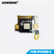 Dower Me Top Antenna Signal GPS Module Flex Cable Wire Chip IC for iPhone 5 5G