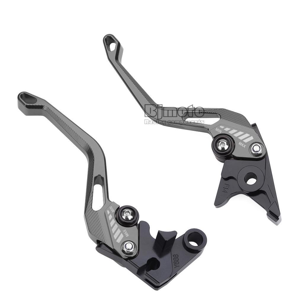 Titanium High Quality Motorcycle CNC Long Brake Clutch Levers For Yamaha MT-07//FZ-07 MT-09//SR//FZ09 2014-2018 FZ-10//MT-10 XSR 700 ABS XSR 900 ABS 2016-2018