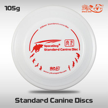 Free Shipping SpaceDog Standard Canine Discs Outdoor Fun and Sports Professional Disc Dog Frisbee Flying Toys(China)