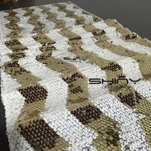 14''*90'' Chevron Gold Sequin Table Runners,SALE Ready to Ship Sequin Chevron Table Runner Chevron Sequin Table Runner