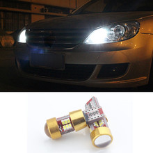 2X New Car LED T10 Canbus W5W No error 27 SMD W5W Wedge Light 12V For Land Rover Skoda octavia 2 a7 a5 fabia rapid yeti superb