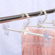 Plastic Pearl Bow Pants Trousers Skirt Hanger Clothes Hangers Fashion New for Adult(China)