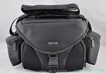 Black CAMERA BAG SLR for Canon Nikon Samsung Canon Sony  --- free shipping