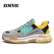Buy ZIMNIE Sport Running Shoes Air Mesh Breathable Outdoor Cushion Sneakers Athletic Men Jogging Shoes Retro New Running Shoes for $23.84 in AliExpress store