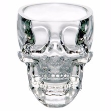 Hot 2017 New arrival!New Skull Head Vodka Whiskey Shot Glass Cup Drinking Ware Home Bar Cup Mug