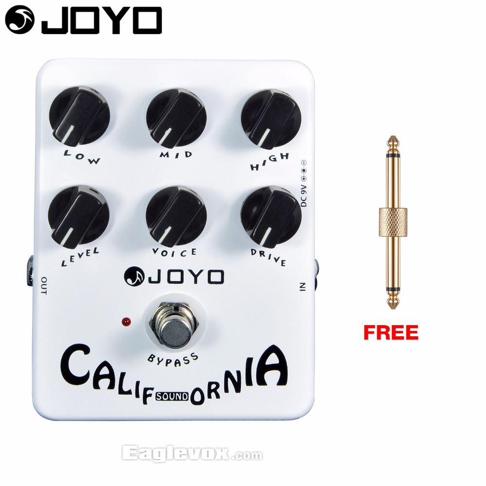 JOYO JF-15 California Sound Electric Guitar Effect Pedal True Bypass with Free Connector<br>