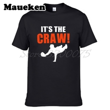 Men It's the Craw Brandon Crawford 35 San Francisco T-shirt Clothes T Shirt Men's for Giants fans gift o-neck tee W17082527(China)