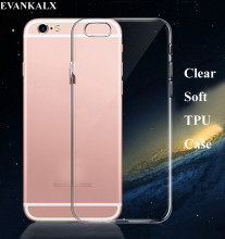 Buy EVANKALX Soft ultra Slim Clear Silicone Transparent Tpu Case iPhone 6 6s Crystal Back Cover iPhone 7 8 6 6s Plus for $1.15 in AliExpress store