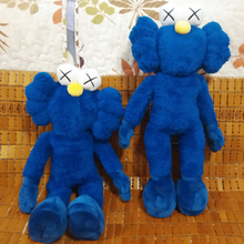 2016 Kaws Thailand Bangkok Exhibition Sesame Street Kaws BFF Plush Doll Toy Collections 40cm Height(China)
