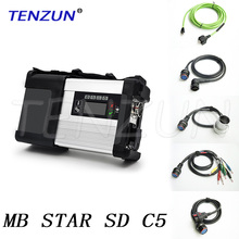 TENZUN new generation V2017.09 softwares with Wifi MB Star C5 SD Connect Compact 5 for Cars and Trucks
