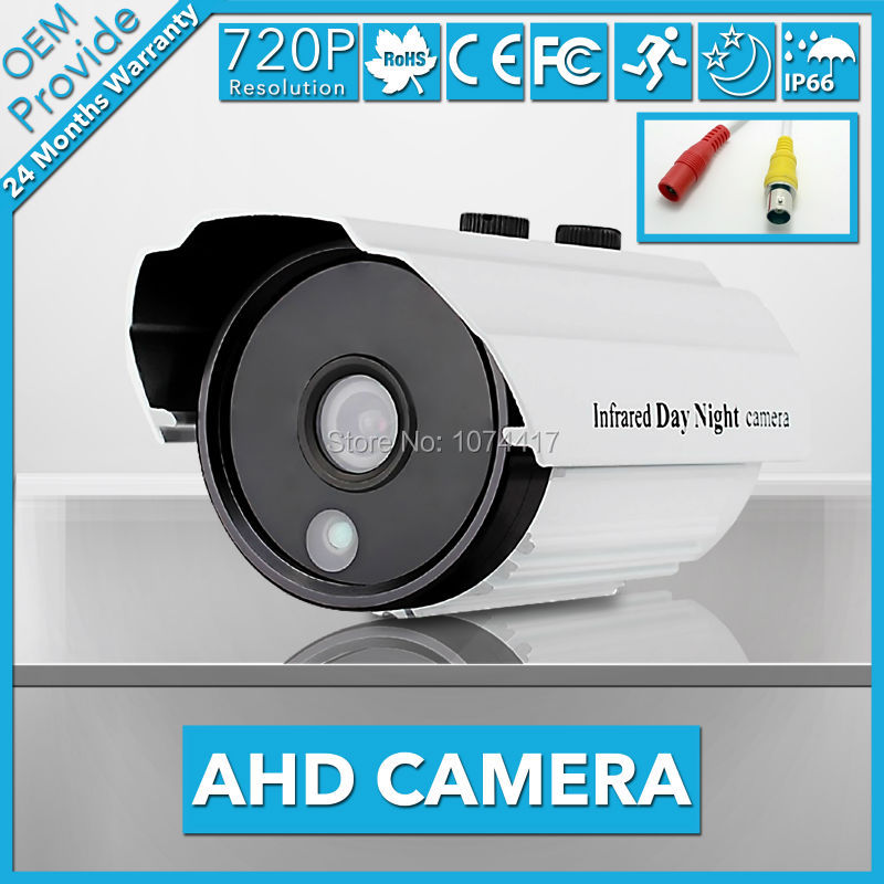 AHD3100LT-TE 1.0MP AHD CCTV Camera waterproof camera security camera 3pcs array led 40M IR 3.6/6MM lens without bracket<br>
