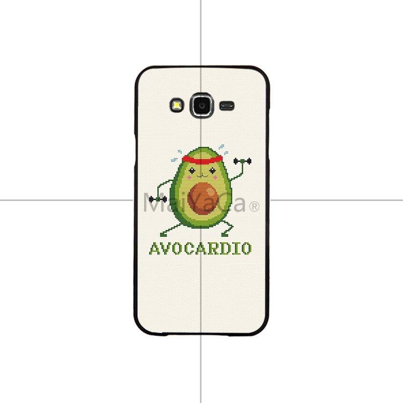 Cute Avocado Food Pattern