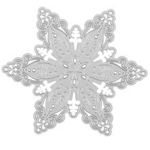 New Christmas Snowflake Metal Cutting Dies Flower Stars Stencils For Scrapbooking Paper Cards Embossing Decorative DIY(China)