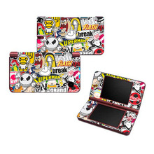 Graffiti Art Vinyl Skin Sticker Protector for Nintendo DSI XL for NDSI XL skins Stickers(China)