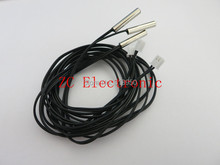 50pcs/lot 1 meter NTC thermistor 10K 1% 3950 accuracy  temperature sensor,temperature probe  thermistor sensor