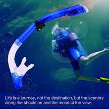 198 Full Dry Snorkel Breathing Tube For Diving Snorkeling Swimming Universal Professional Breathing Equipment Free Shipping(China)