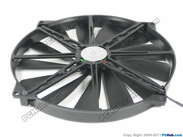Emacro   Cooler Master A20020-07CA-2JN-F1, DF2002005SELN DC 5V 0.30A 200x200x25mm Server Round fan<br>