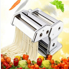 Household Stainless Steel Pressing Pasta Machine Noodle Making Machine Pollen Press Pasta Roller Makarna Makinesi Manual W157