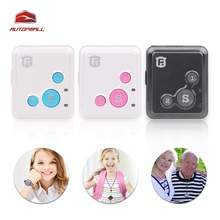 Mini Kids GPS Tracker Personal Child GPS Locator RF-V16 Real Time Tracking 7 Days Standby SOS Voice Monitor Free APP Tracking(China)