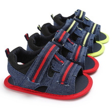 ROMIRUS Classic Baby Boys Handsome Summer Shoes New Born Fashion Casual Flip Flop Beach Anti Slip Crib Bebe Soft Soled Shoe