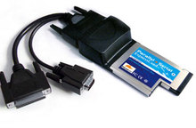 Hengtong notebook Expresscard and serial card, HCE-001 parallel port card + serial card(China)