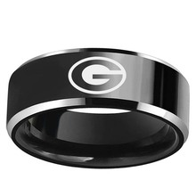 Green Bay Packers logo Stainless Steel Men's 316L Ring(China)