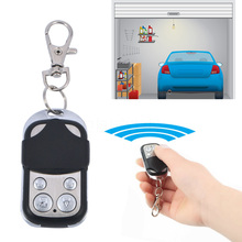 1pcs Hot Electric Cloning Gate Garage Door Remote Control Fob 433mhz Key with Keychain