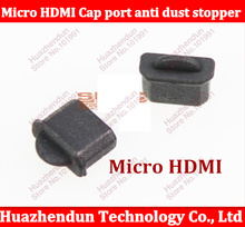 500pcs/lot Brand New Micro HDMI Cap port anti dust stopper Protector Plug cover Free shipping(China)