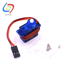Free Shipping 1PCS SG90 9g Mini Micro Servo for RC for RC 250 450 Helicopter Airplane Car Boat(China)