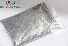 0.1MM 004 SIZE Silver Color Shining Nail Glitter Powder(China)
