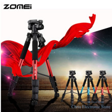 Original ZOMEI Q111 Portable Tripod Professional Aluminum Camera Tripod for DSLR Camera Gopro Flexible Video Tripod Stand(China)