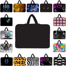 Neoprene Computer Bags 14.2 14 Inch Handbag Laptop Bags 15 13 12 10 17 Inch Sleeve Notebook Cases For Lenovo Toshiba HP Stream