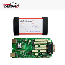 Multidiag pro with bluetooth Single Board PCB TCS PRO CDP TCS Plus 2015.R3 with keygen OBDII OBD2 Diagnostic Tool for car/truck