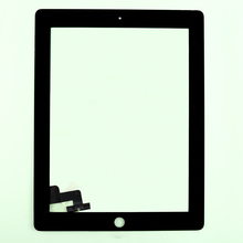 10pcs/lot  Free shipping by DHL or EMS for ipad 2  100%  tested well for Touch Screen  Replacement For iPad 2 touch panel