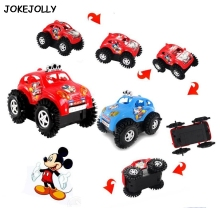 Baby toys electric cars rapid dump trucks kids toy Mickey Mouse dumpers toy cars Children vehicle toy gifts for boy and girl GYH