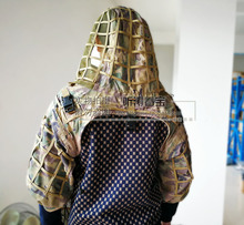 Light Breathable Camouflage Clothing DIY Camouflage Material Foundation Ghillie Suit Self-made with Yarn Do as your wish