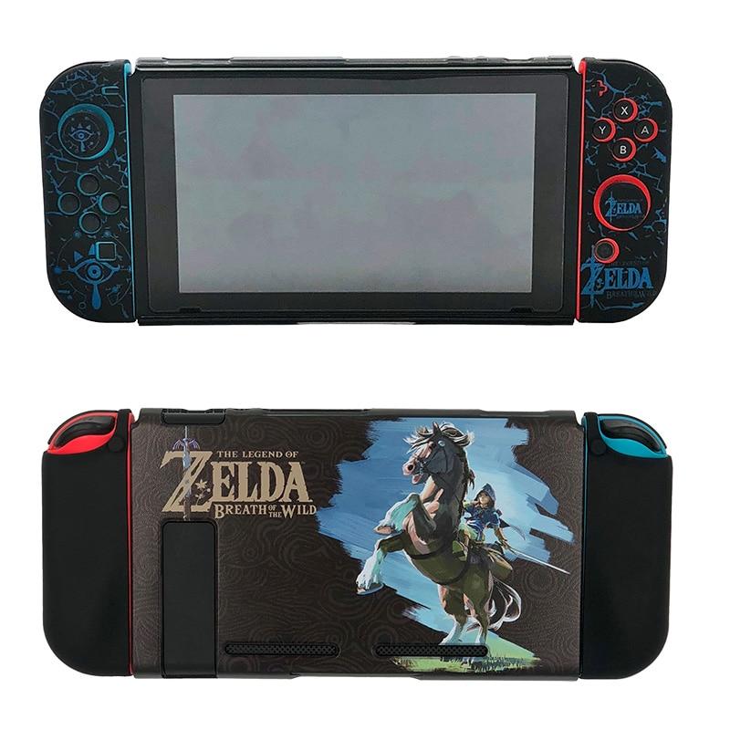 Nintendo Switch Protective Case Cover The Legend of Zelda Jon Con Grip Thumb Stick Caps Accessories-2