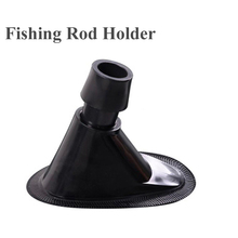 plastic fishing pole rod holder to be glued on inflatable fishing boat hold fishing rod pole fishing device equipment accessory
