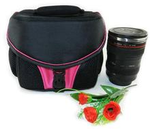 Pink  Photograph Pocket DSLR SLR Camera Bag Case For NIKON CANON SONY FUJI OLYMPUS SAMSUNG LEICA