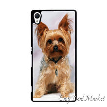 Yorkshire Terrier Puppy Dog  Cover Case for Sony xperia Z Z1 Z2 Z3 Z4 Z5 Compact C C3 C4 C5 M2 M4 T2 T3 E4 X XA Performance