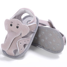 2017 Newborn Creative Elephant Casual Baby Shoes Boy Girl Cotton Crib Soft Sole Shoe Shoes Sole Toddler shoes