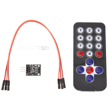 4pcs Wireless Remote Control Ultrathin Mini 38 KHZ Infrared Receiving Module Infrared Wireless Remote Control Module Kits(China)
