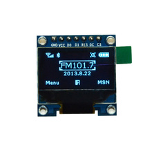 "Blue Color 0.96"" OLED Display Module 0.96 inch 128X64 OLED LCD LED Sreen SSD1306 For Arduino I2C IIC SPI Serial"