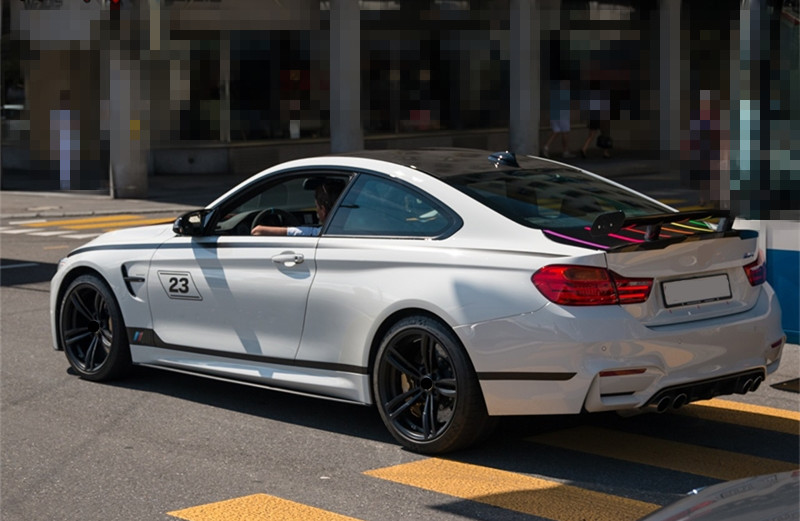 Sport Styling Car Door Side Skirt Stickers Body Customized Auto Waist Line Strips Decal For BMW 123465 series GT M3 M4  (2)