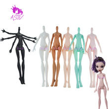 Rosana High Quality Imitation Demon Monster Doll Naked Body for Monster High Dolls DIY Fairytales 11 Rotatable Joints Dolls Toys(China)