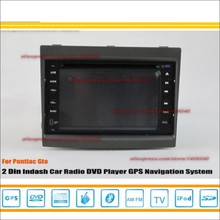 For Pontiac Gto 2004~2007 - Radio CD DVD Player & GPS Nav Navi Map Navigation System / Double Din Car Audio Installation Set(China)