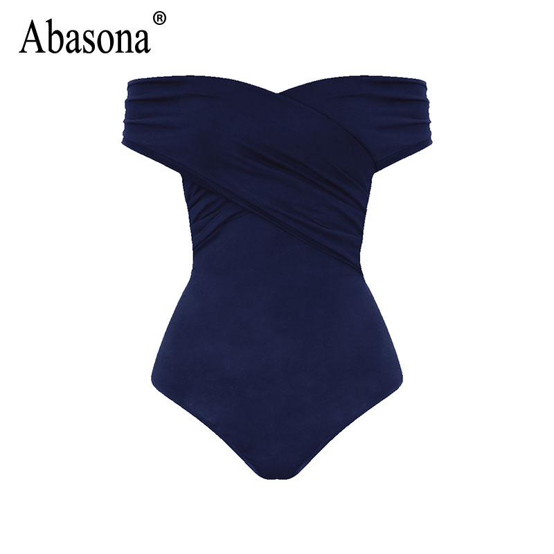 Abasona Bodysuit Women Body Suits For Women Sexy Romper Body Top Womens Sexy Off Shoulder Bodysuits Casual Beach Wear Playsuits 13