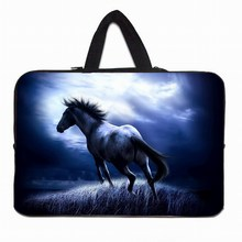 "9.7"" Netbook Liner Case For IPad 4 3 2 1 Horse Fashion Mini Laptop Notebook Inner Pouch Bags For Lenovo Chuwi Huawei Tablet 10.1(China)"