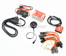 Naza M Lite Flight Control Controller w/ PMU Power Module & LED &Cables + M8N 8N GPS for NAZA With Compas