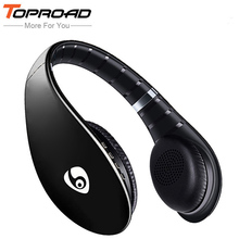 Wireless Auriculares Bluetooth Headphones Receiver Earphone Headset FM TF Handsfree With Mic for ios Android phones Table PC